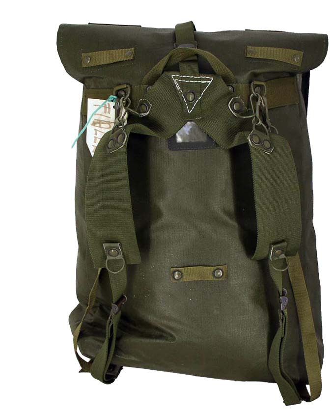 Czech PVC Backpack  Waterproof With Straps