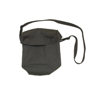 Canvas Shoulder Bag  Long Strap Multiple Compartments 240x220x140mm