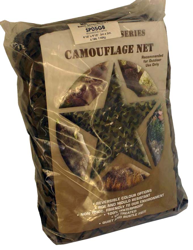 Camo Systems Net  6 x 3m (20 x 10 ft) Full Face With Military Netting