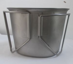 Dutch Metal Cup  With Handles
