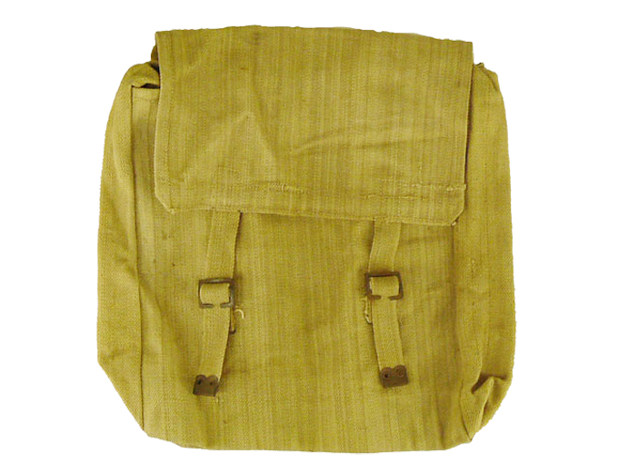 WWII 37 Pattern Type Haversack  With Helmet X Straps