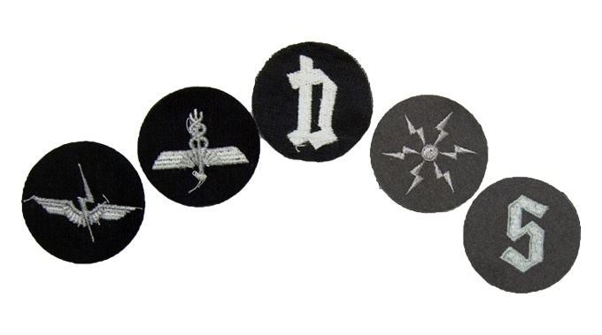 Cold War Textile Badges  Various Combined Forces Designs