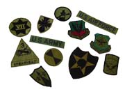 USA Rank Badges