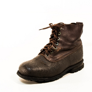 Swedish Combat Boot  Leather with Rubber Toe Caps