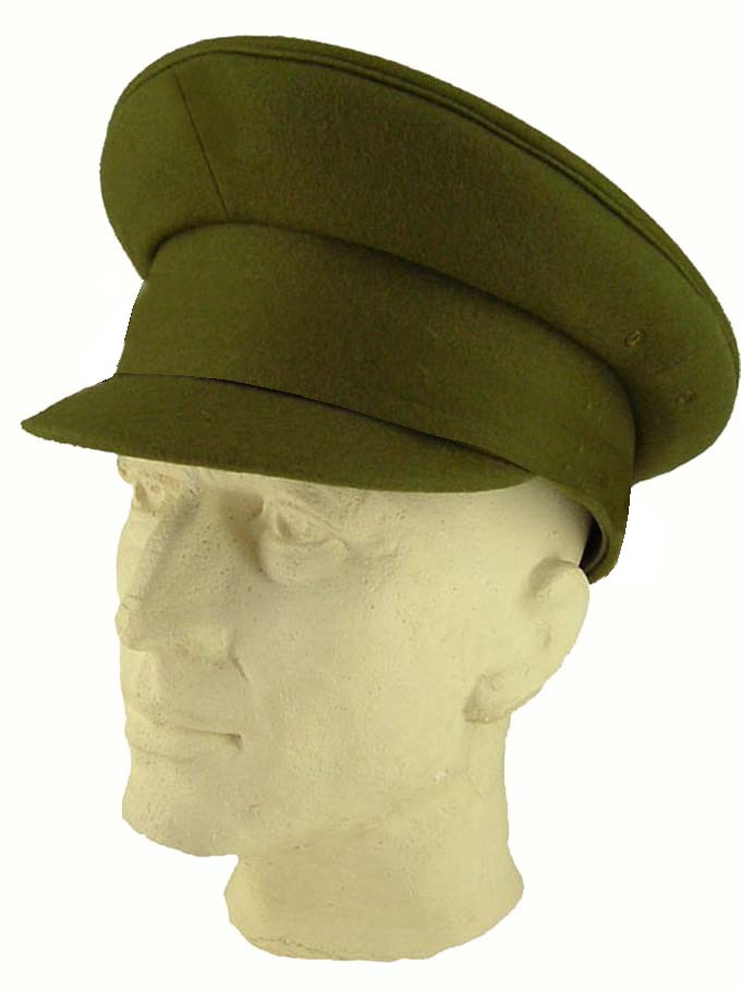 06f2a8df881 Belgian Peaked Uniform Cap Wool Like GB   US WWII Officer (Dads Army) Type  ...