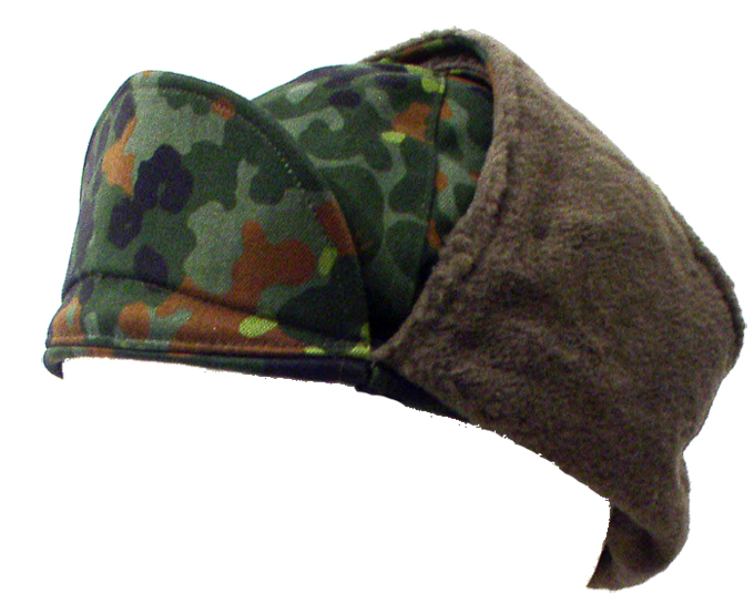 German Winter Hat  With Ear Flaps