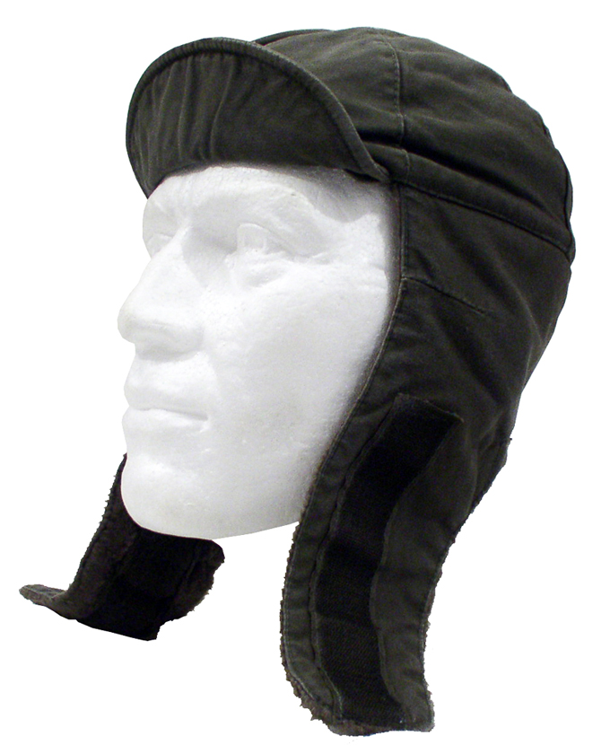 German Winter Cap  With Ear Flaps