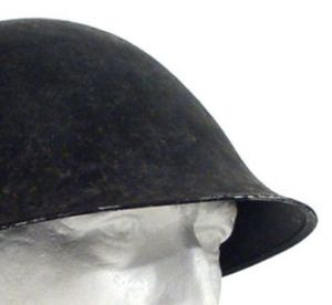 British MK IV Helmet Without Comb