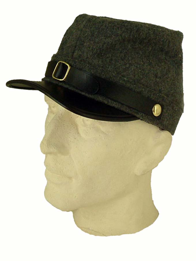 Kepi Peaked Hat  USA Civil War Type Wool Blend
