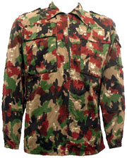 Swiss Lightweight Army Jacket