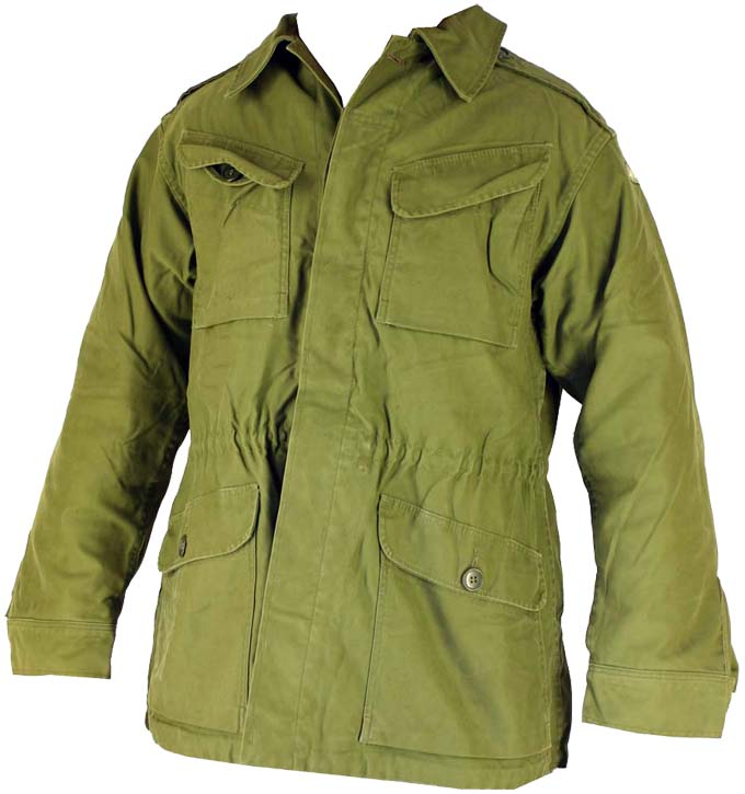 Danish Field JacketM58 Unlined Button Close