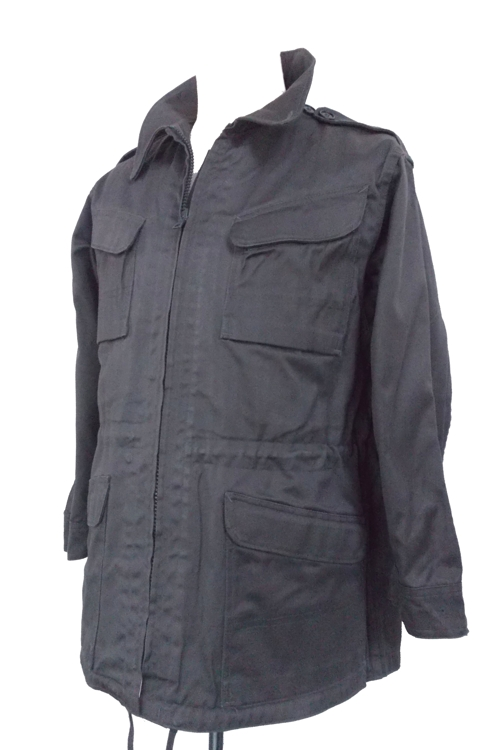 Danish Combat Jacket  Cotton Heavy Duty Zip Close 4 Pockets