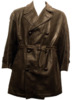 Italian Leather Police Coat