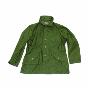 Swedish Combat Jacket 2 Pockets on Back Sateen Finish Metal 3 Crown Buttons