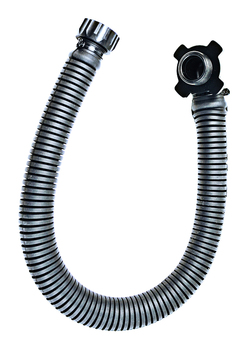 British Rubber Gas Mask Hose 75cm  Fits Various Nato Masks UK Russian etc