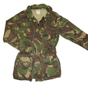 Dutch Combat Jacket Parka Full Length Zip
