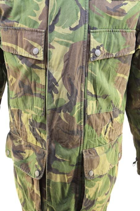 Dutch Lined Combat Jacket Parka Lightweight Quilted US Liner Full Length Zip