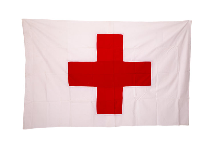 Red Cross Flag  Cotton (5ft x 3ft)