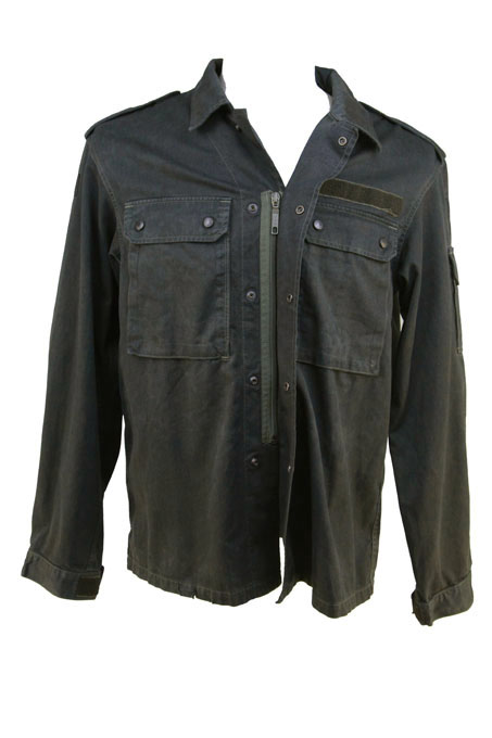 German Field Shirt / Jacket  Zip & Press stud close Velcro Cuffs