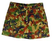 Swiss Camo Skirt