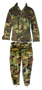 USA Original BDU Suit