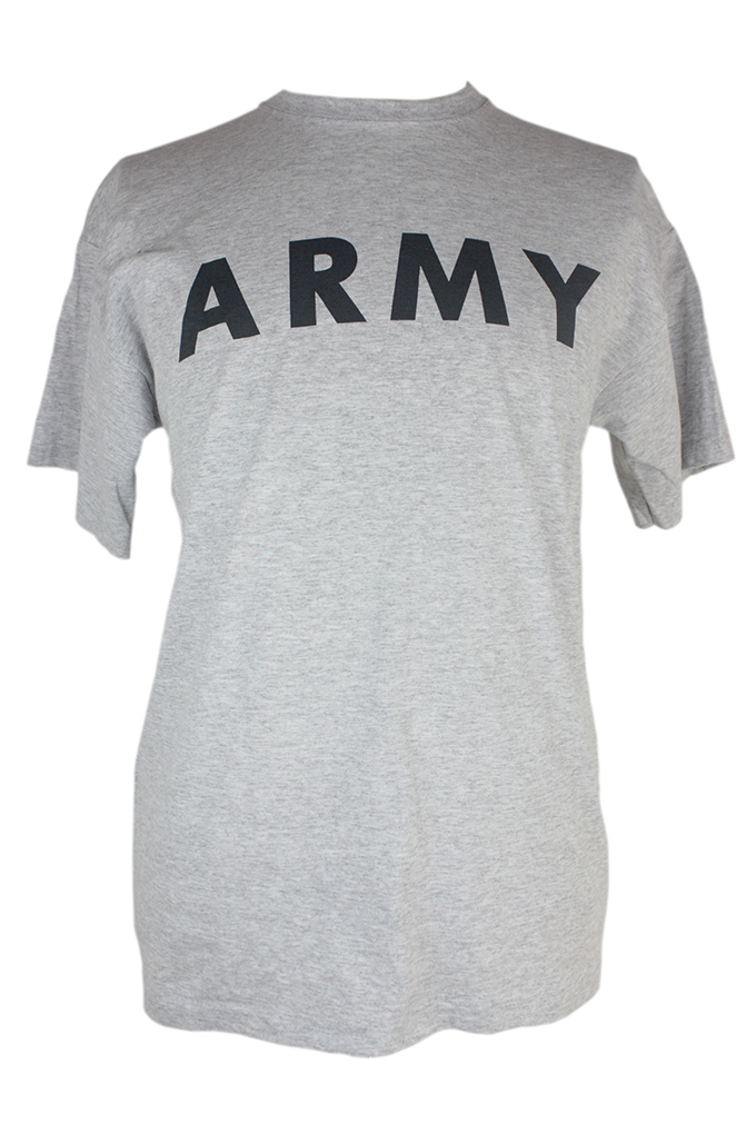 Army PT  Short sleeve with A Symbol on back