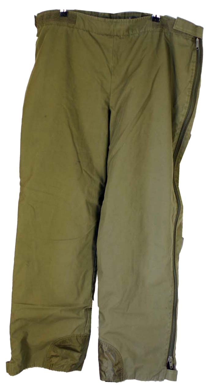 German Overtrousers  Fleece Lined Full length Zips