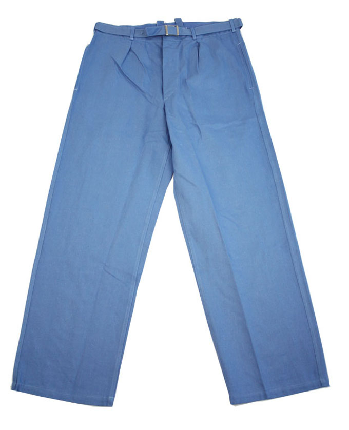 German Porter Chino Trousers  100% Cotton Button Close with Removable Belt