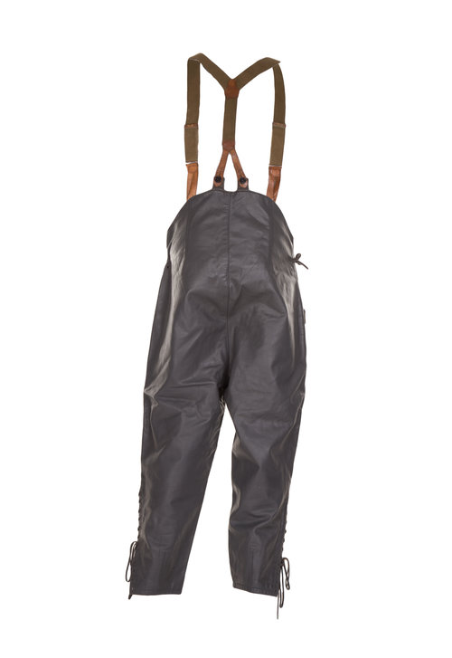 German Submariner Dungarees  Leather with Bib & Braces