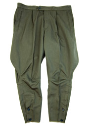 DDR East German Uniform Riding Trouser
