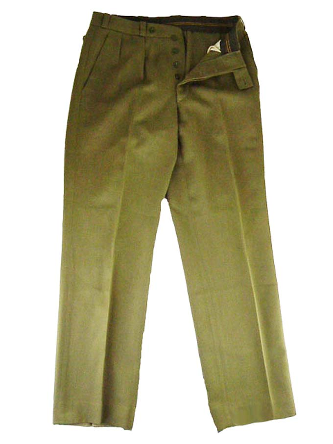 Dutch USA GI Style Uniform Trouser  Military Issue Wool Mix