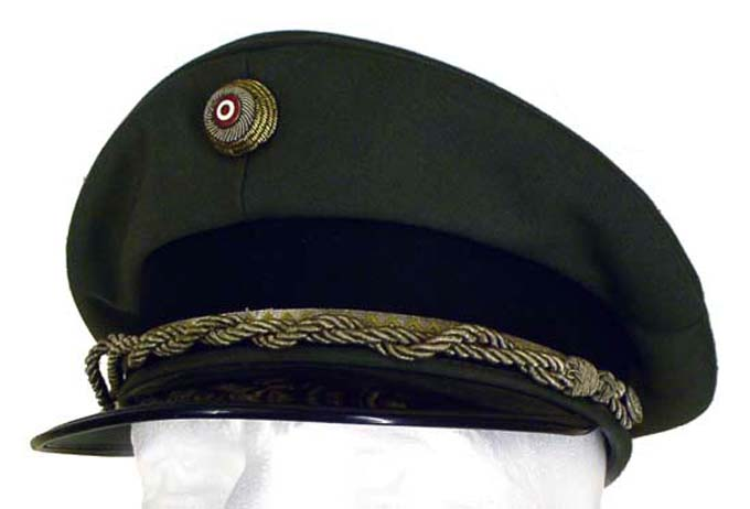 Austrian Peaked Hat  Officers Hats