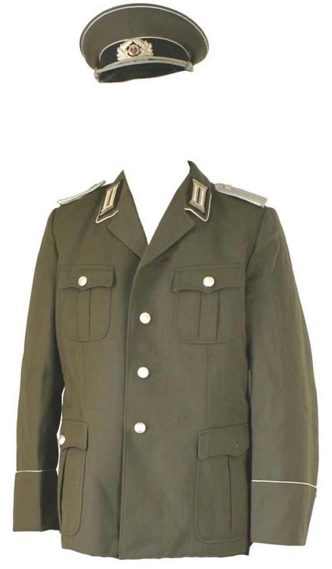 European Army Surplus- East German DDR Uniform UNDR012-AV-GY