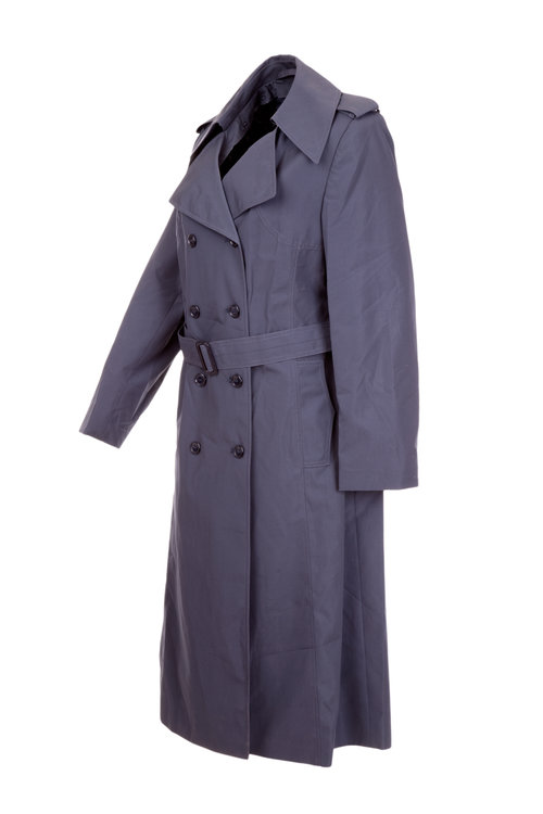 Ladies Raincoat Mac  3/4 Length Double Breasted with Belt & Detachable Liner